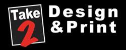 Take 2 Design & Print Logo
